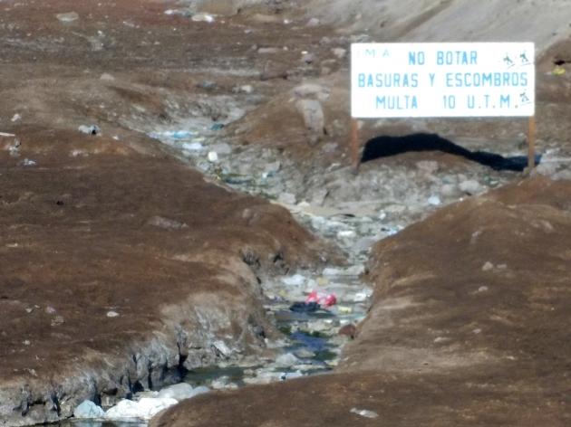 Basura en Antofagasta | María José Cifuentes