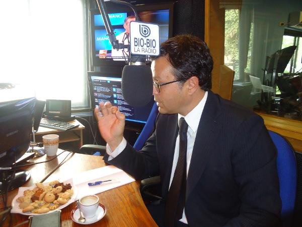 Ministro Hinzpeter | Marcelino Mardones (RBB)