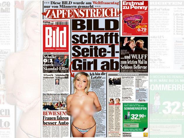 """""""Yo soy la última"""", dijo Eva en su portada de Bild"""