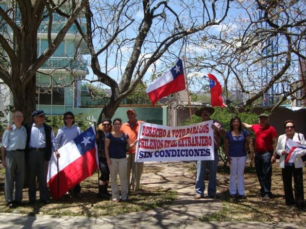 Chilenos en Guatemala | Luz Vargas