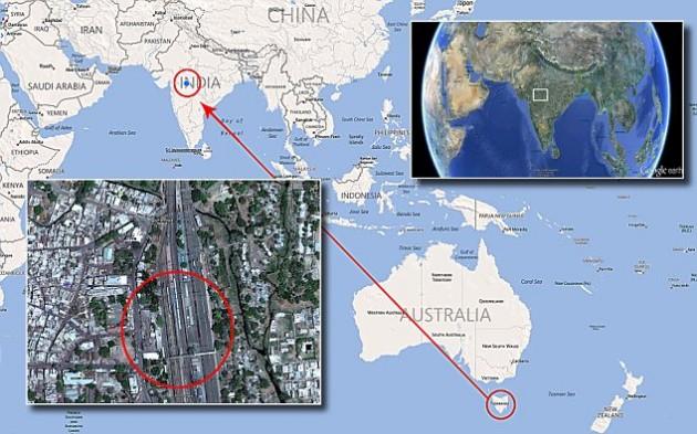 Saroo buscó su hogar por medio de Google Earth   Daily Mail