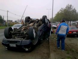 Accidente en Autopista | @Victor_G vía Twitter