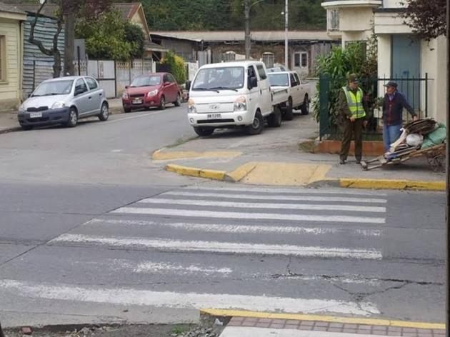 Estacionamiento en las calles de coronel    Alexis Aguayo Toro