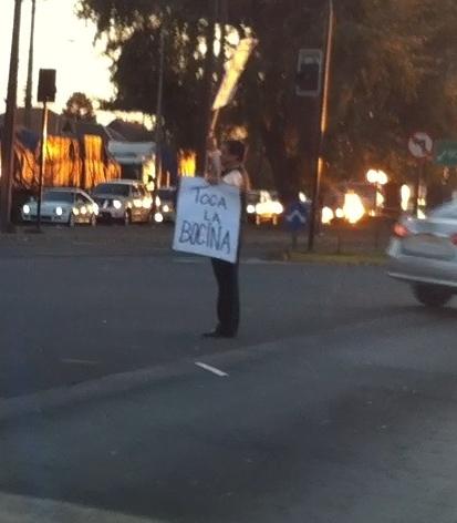 El manifestante | Cristian