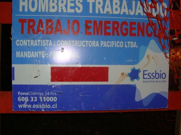 Trabajos empresa Essbio | Felipe Mora