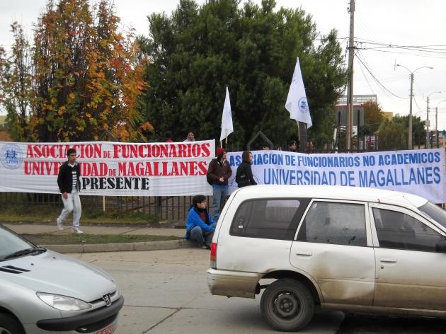 Universidad de Magallanes EN TOMA | Cyntia Guineo