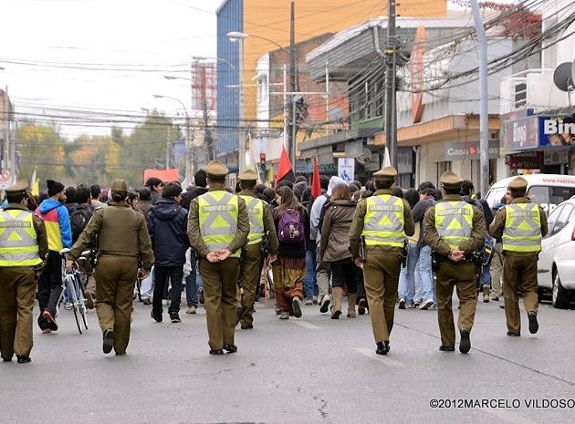 Marcha Estudiantes | Marcelo Vildósola Garrigó