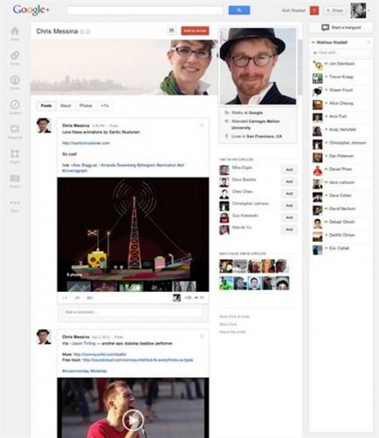 El nuevo Google+