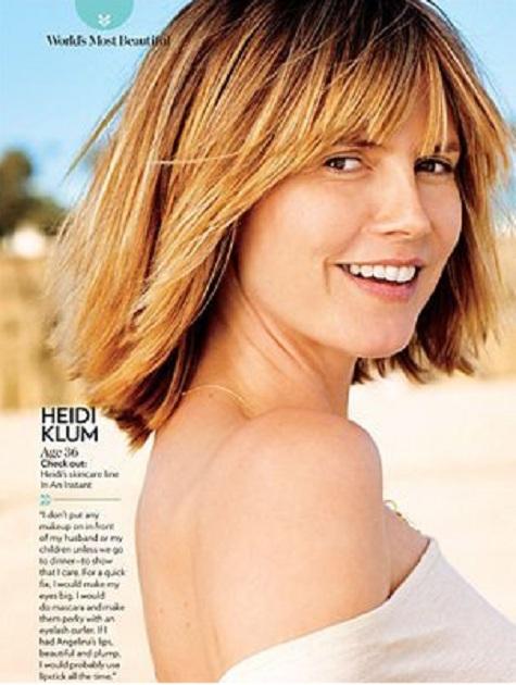 Heidi Klum en revista People