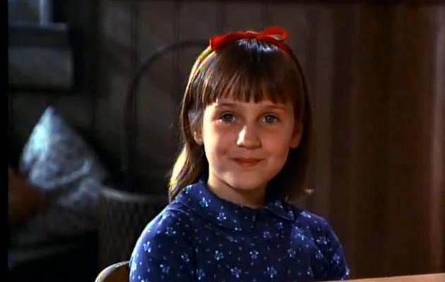 Wilson en el filme Matilda