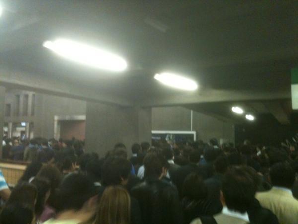 Metro estación Baquedano   Sergio Pavez vía Twitter