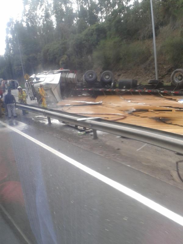 Accidente | Esteban Herrera en Twitter