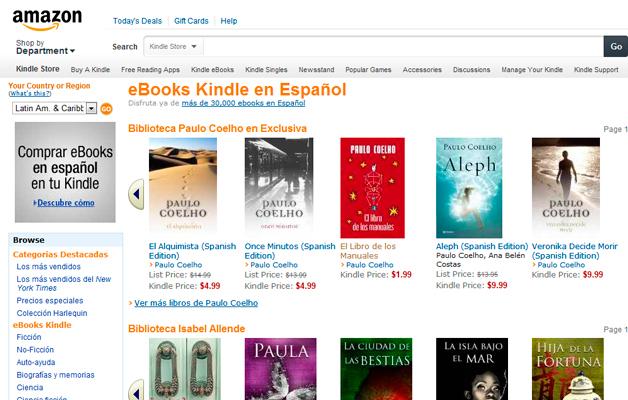 eBooks Kindle en Español
