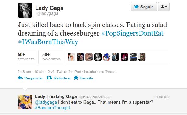 El polémico tweet de Lady Gaga