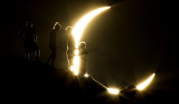 El eclipse en Phoenix | Michael Chow