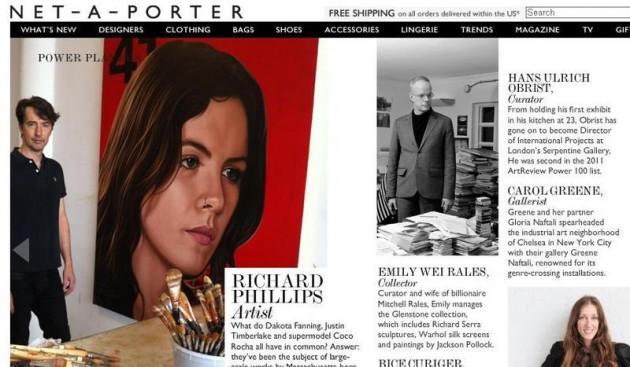 Camila Vallejo en Net-A-Porter