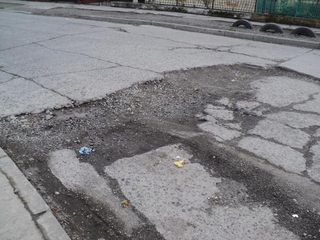 Pavimento en mal estado | Fernando López