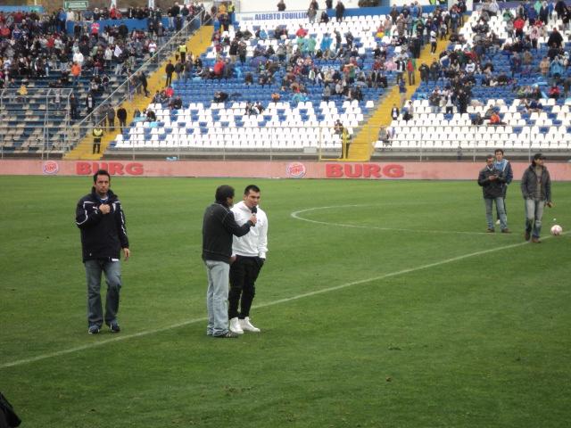 Gary Medel en San Carlos | Simón Collado