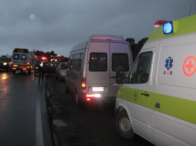 Accidente Bus en Maullín | Guido Miranda (RBB)