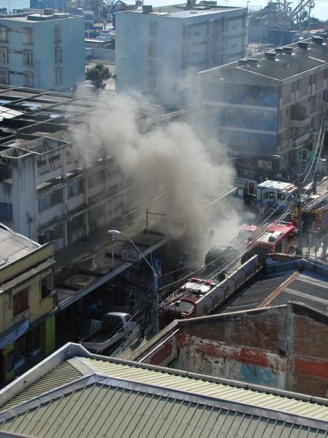Incendio en Talcahuano | RBB