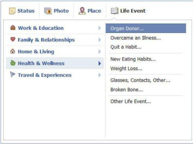 La nueva función de Facebook