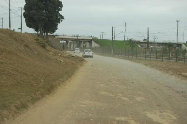 Mal estado de calle en Talcahuano