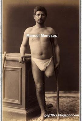Manuel Meneses, discapacitado tras la GdP
