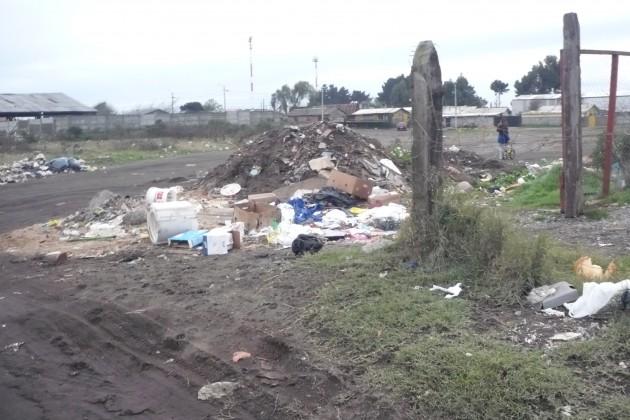 Microbasural en San Pedro de la Paz | Myrtha Calderón Mendez