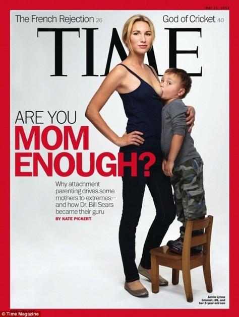 La portada de Time
