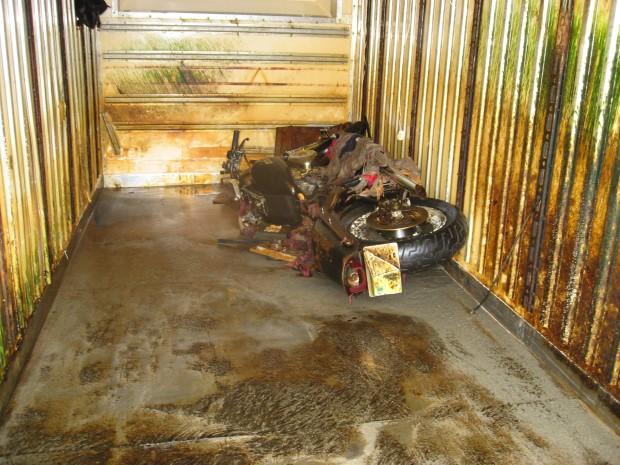 La motocicleta | Vista en visordown.com