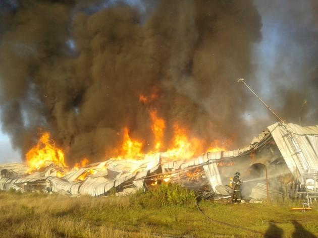 Incendio en Multiexport | Mauricio Baeza (RBB)