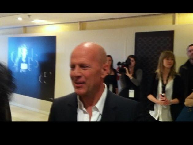 Bruce Willis en el Festival de Cannes | René Naranjo