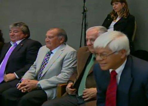 Mundialistas del 62' homenajeados en el Congreso