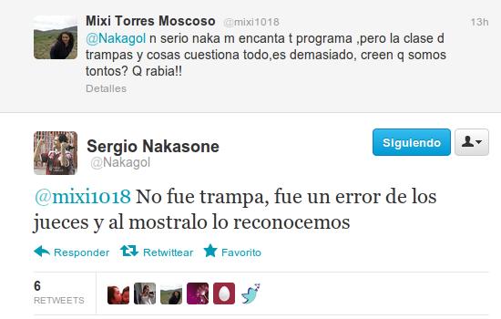 Nakagol en Twitter