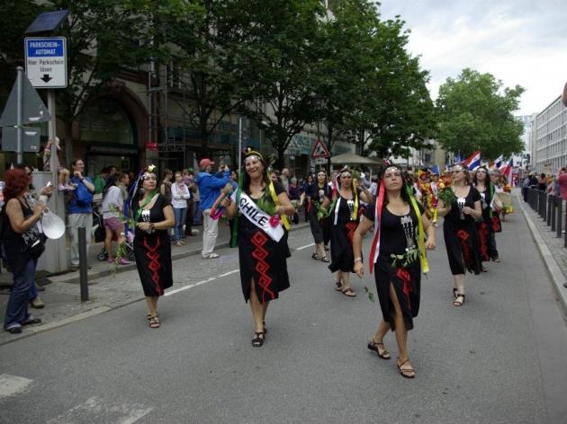 Chile Tercer Lugar Parade der Kulturen Frankfurt 2012 | Lucia del Pilar