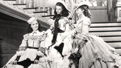 Ann Rutherford (a la izquierda) | MGM