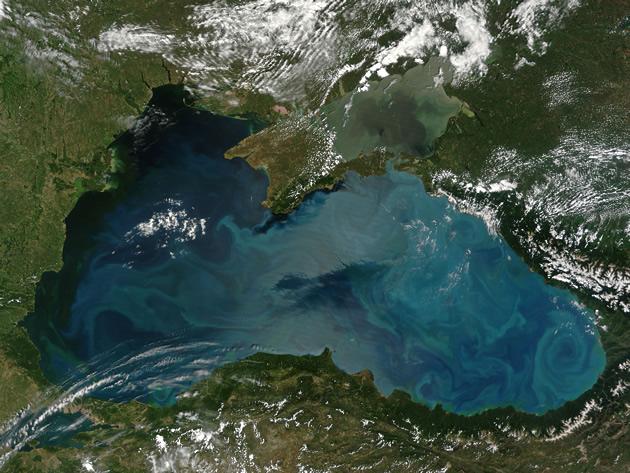 Mar Negro   NASA