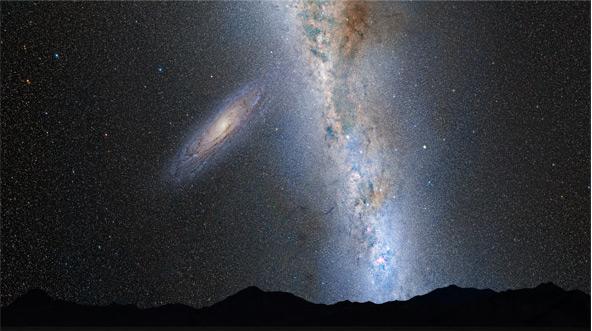 Firmamento terrestre en 2 mil millones de años   NASA
