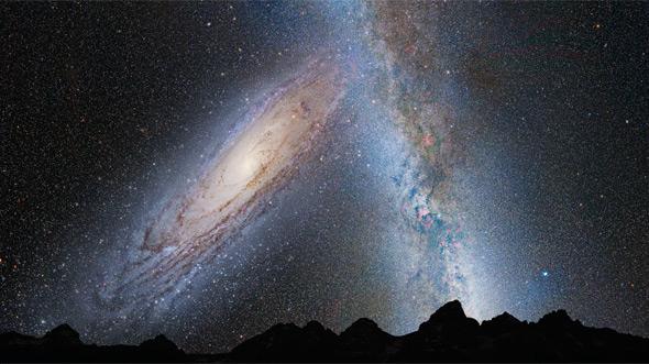 Firmamento terrestre en 3.750 millones de años   NASA