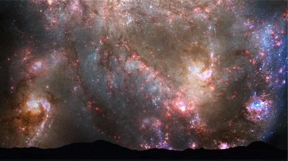 Firmamento terrestre en 3.900 millones de años   NASA