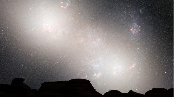 Firmamento terrestre en 5.100 millones de años   NASA