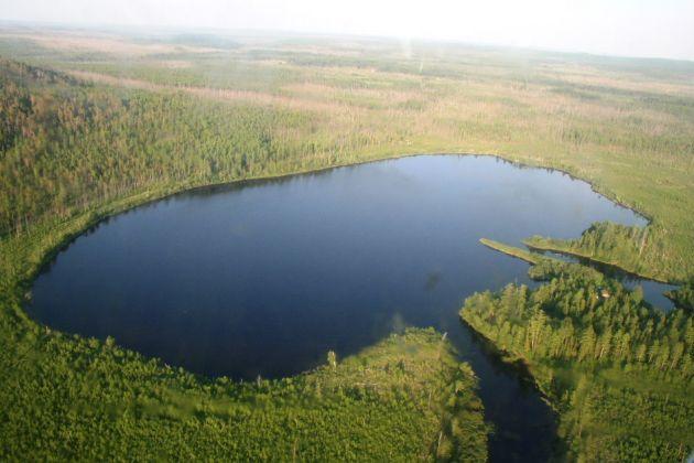 Lago Cheko | Fotografía tomada en 2008 por una expedición de la Università di Bologna