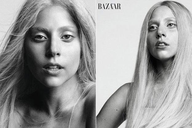 Lady Gaga en Harper's Bazaar