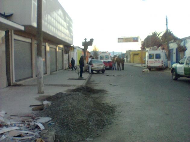ambulancia chocada | claudia sepulveda