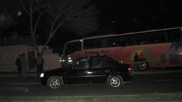 Choque de Pullman Bus en Llolleo | Roberto Vilches