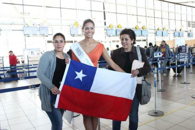 Miss Chile 2012 Camila Recabarren Picture