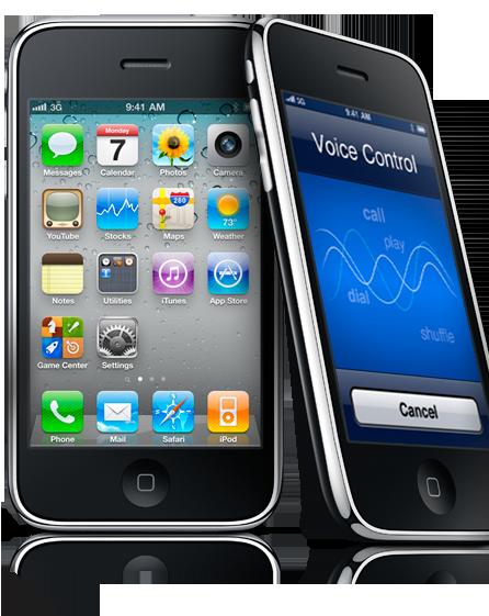 Pantalla de un iPhone | Apple.com