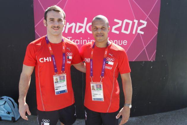 Tomás González y Yoel Gutiérrez | ADO Chile/Mauricio Palma