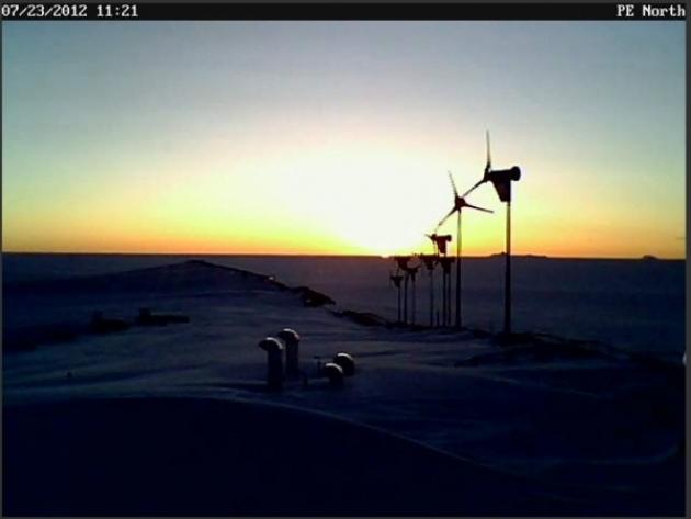Vista en Prensa Antártica