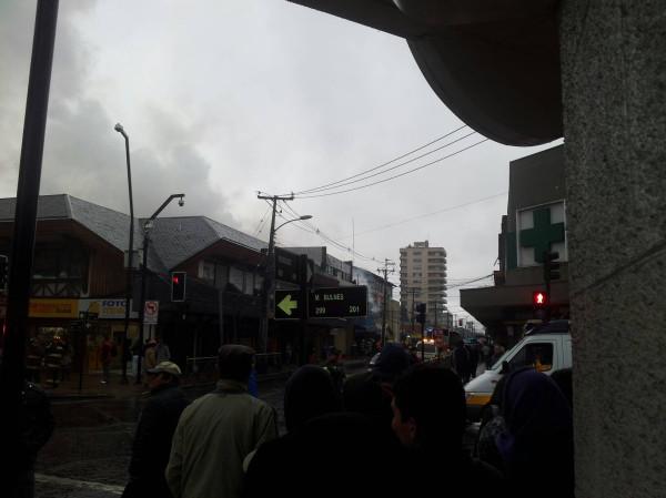 Incendio en Temuco   Slimp_69 en Twitter